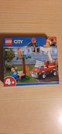 Lego City Bombeiros a apagar incêndio
