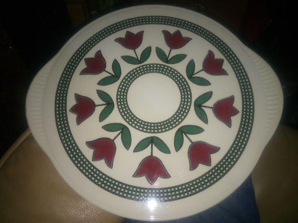 Talerz ceramiczny - tortownica