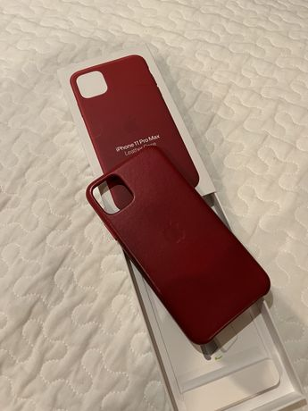 Capa em Pele Iphone 11 Pro Max - original