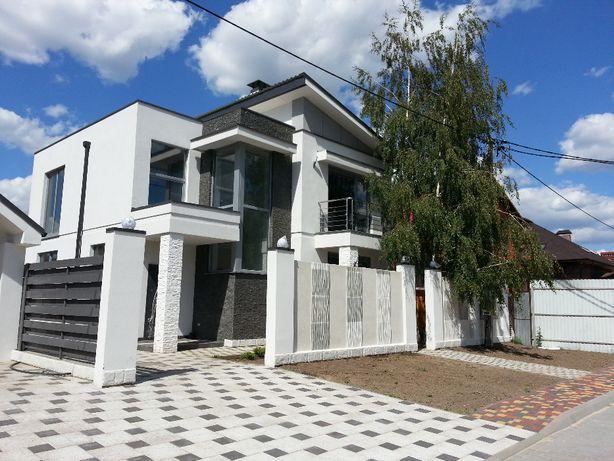 Дом 190 кв.м в стиле хайтек, БАССЕЙН, 5 мин ходьбы до лицея П.Борщагов