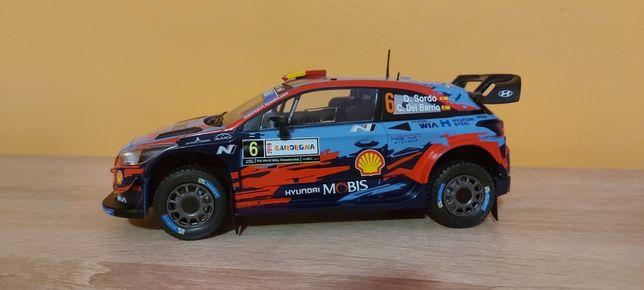 Hyundai i20 WRC 2019 skala 1:24