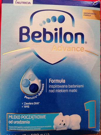 SPRZEDANE Mleko Bebilon advance 1