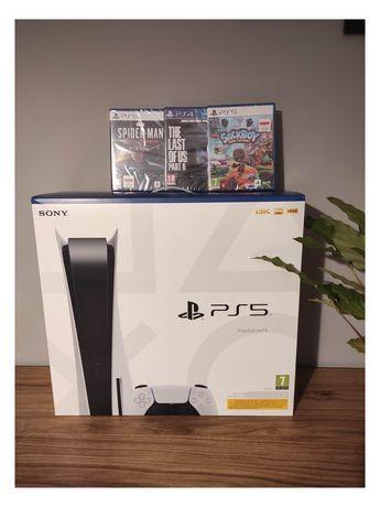 PlayStation 5 konsola FV gwarancja + gra