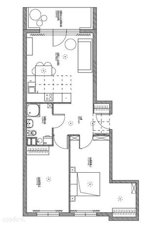 Mieszkanie 62,43 m2 - Wola - ul. Radziwie 5