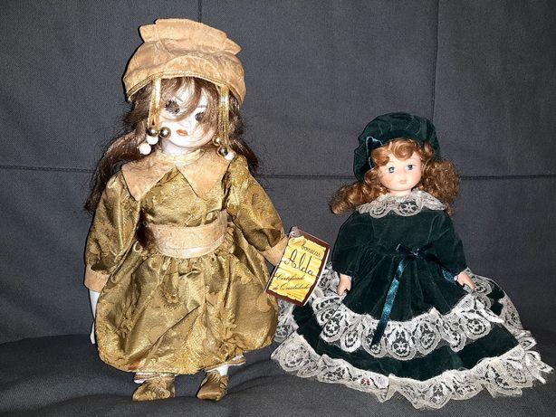 Bonecas porcelana duas alda