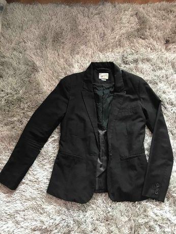 Żakiet/Marynarka Pull&bear czarna