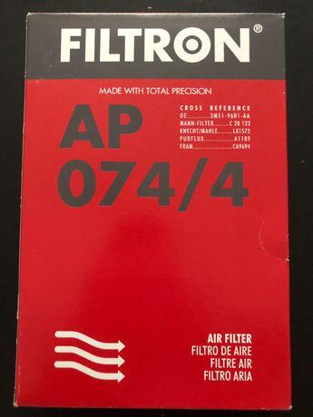 Filtr Powietrza Filtron AP 074/4 do Ford i Volvo