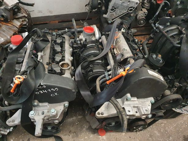 Motor vw golf/toledo/leon 1.4/1.6 16v azd/bcb