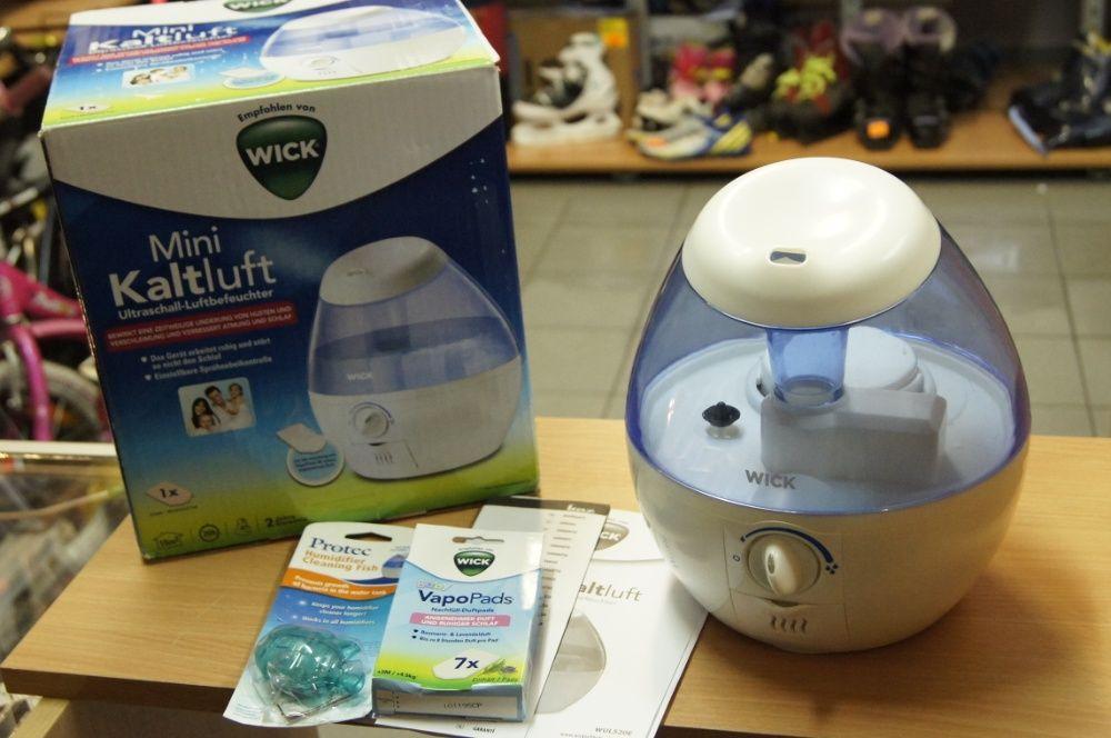 WICK WUL520E4 nawilżacz powietrza ultradźwiękowy + wkładki zapach