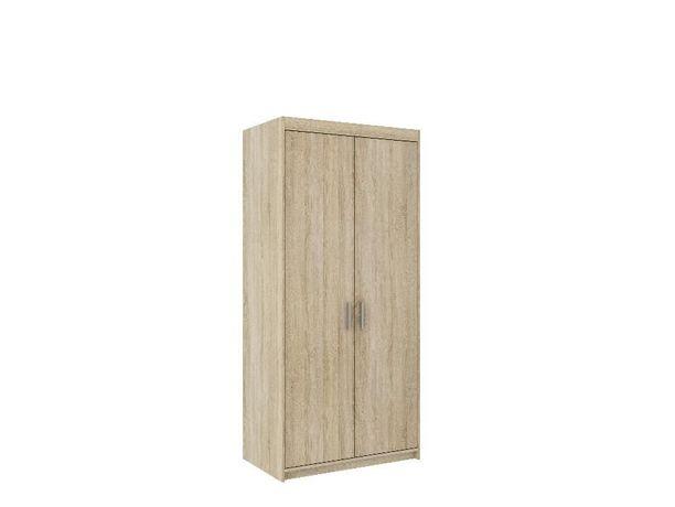 NOWA Szafa Garderoba ELIZA 90cm 133cm 3 Kolory dostawa 10 dni BIAŁA