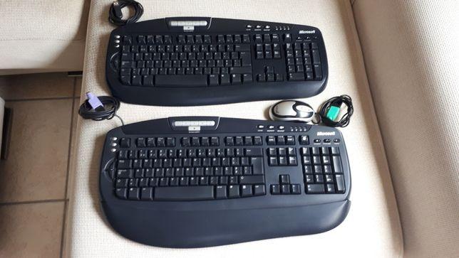 Teclados p/ PC Microsoft (2 unidades)