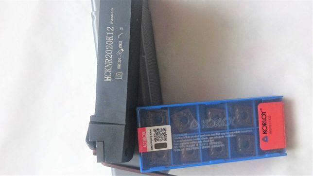 Nóż tokarski składak MCKNR2020K12+ płytki CNMG120408 HA PC9030  10szt