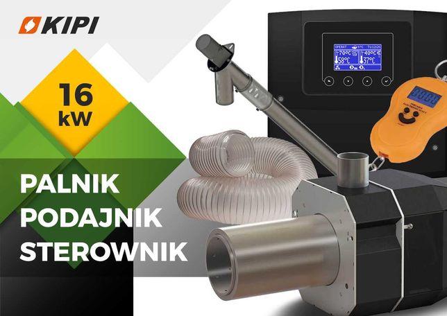 palnik pellet automat zapalarka obrotowy autoczyszczeniem 16 kW kipi