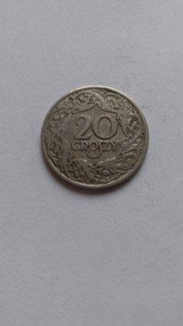 Moneta 20 groszy 1923 rok