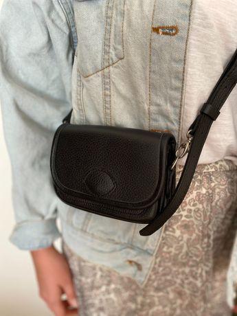 Czarna torebka, na ramię lub do paska