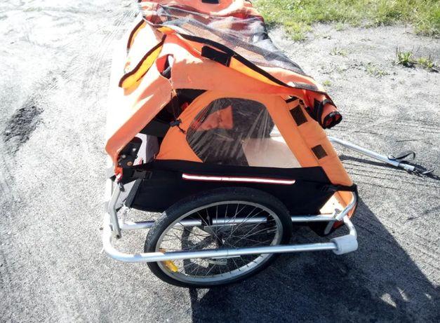 Przyczepka rowerowa /riksza wózek dwuosobowy Wysyłka