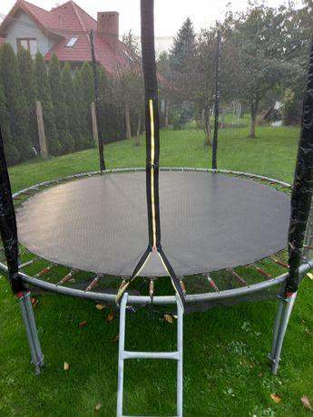 Trampolina ogrodowa 305 cm. Nowa siatka,  brak osłony na sprężyny