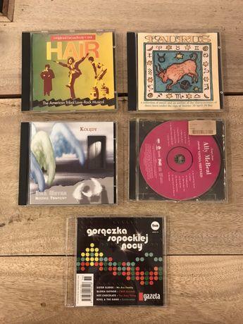 Zestaw 5 płyt CD z muzyką