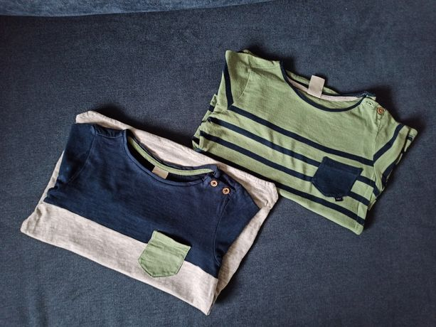 Zestaw bluzki H&M roxm z metki 92