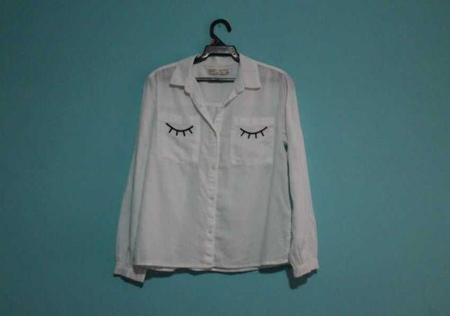 Camisa branca zara nova