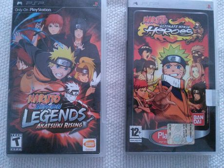 Naruto, Shippuden Legends e Ultimate Ninja Heroes