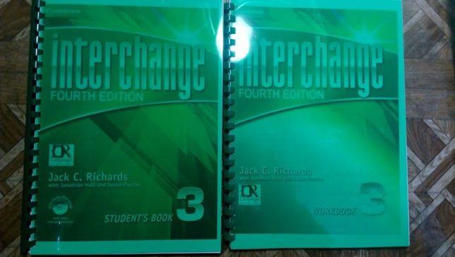 Interchange 4ed 1,2,3 Students Book + Workbook