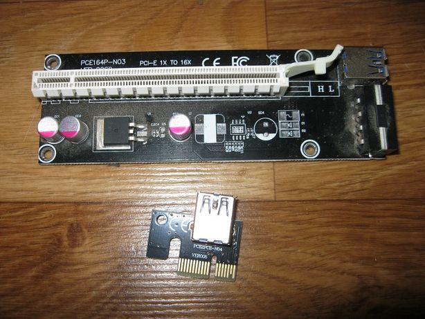 Райзер PCE164p-n03 ver 006d Riser адаптер майнинг
