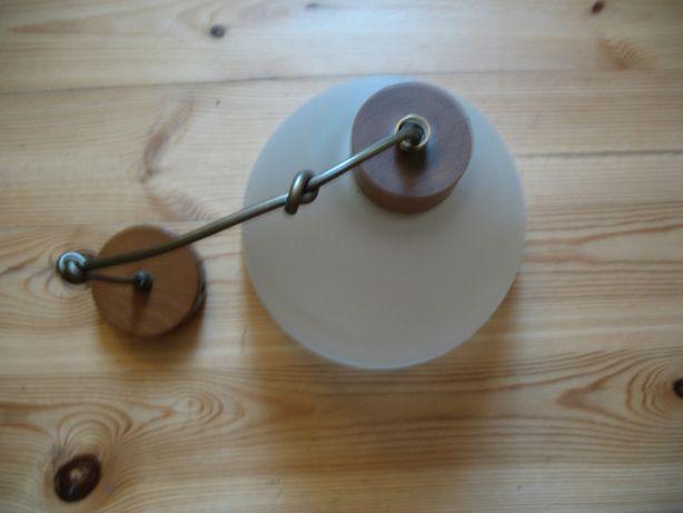 używana lampa wisząca w super stanie