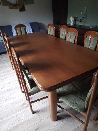 Stół rozkladany + krzesla