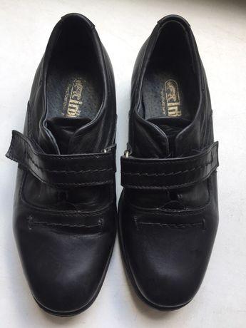 Туфли для мальчика, на липучках, черные - Irbis 29p 350 грн