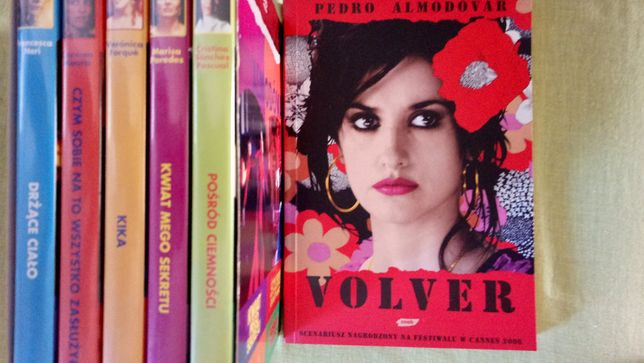 Pedro Almódowar kolekcja filmy 5 X DVD + Książka ,, vOLVER ,