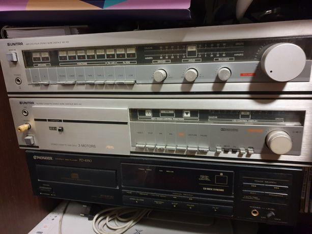 Unitra MDS 432 WS 432 Pioneer CD Audio cały zestaw