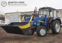 Фронтальный погрузчик КУН-4.2 с ковшом 1.6 м к тракторам МТЗ