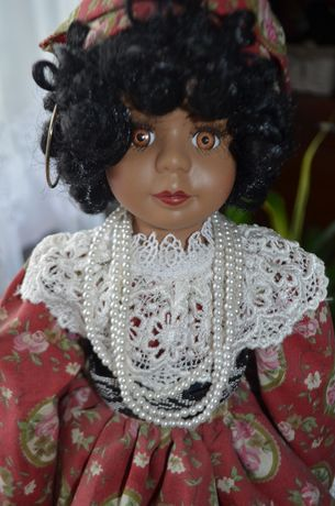 lalka porcelanowa cyganka numerowana