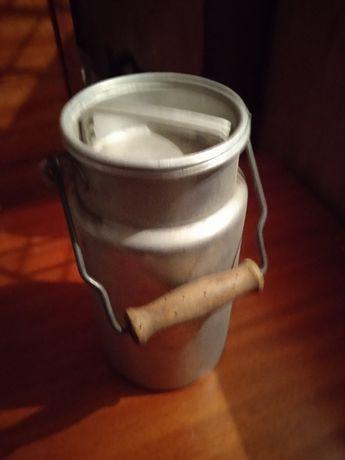 Kanka na mleko aluminiowa 2L PRL