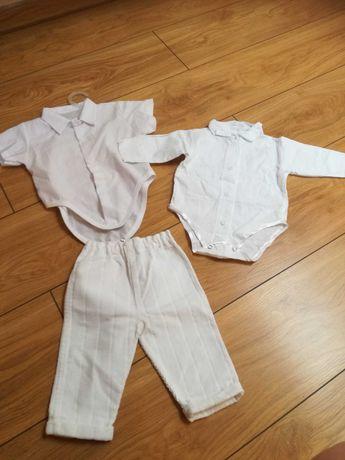 Sprzedam koszule i spodenki na chrzest dla chłopca