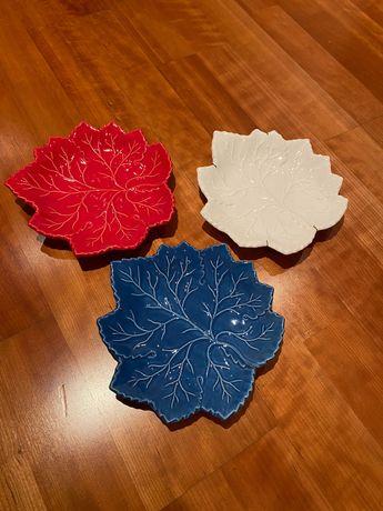 Pratos de cerâmica
