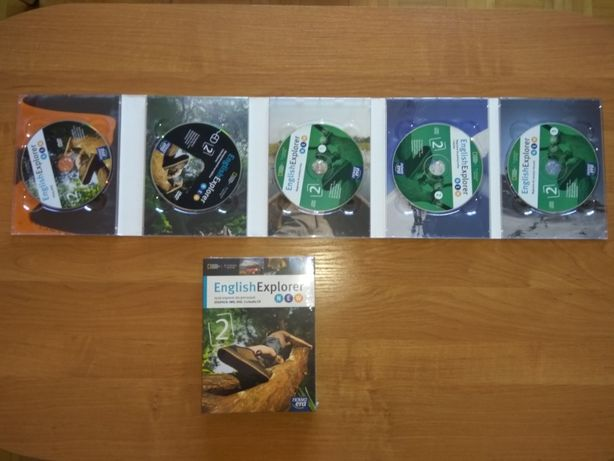 English Explorer New 2 DIGIPACK: IWB, DVD, 3x Audio CD