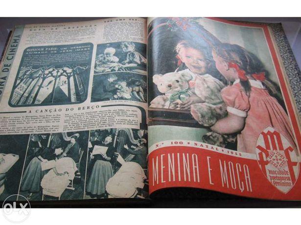 Revista Menina e Moça 1955 - Mocidade Portuguesa Feminina