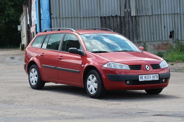 Renault Megane 1.6 бензин 2005 универсал