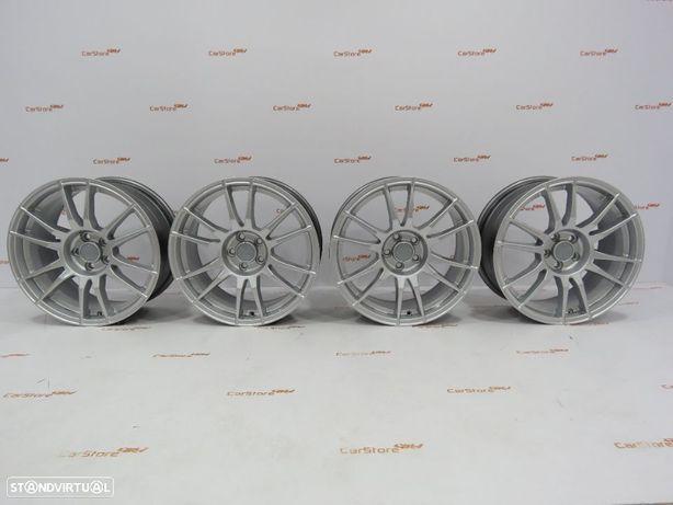 Jantes Look OZ Ultraleggera 17 x 7.5 et35 4x100 Cinza Prata