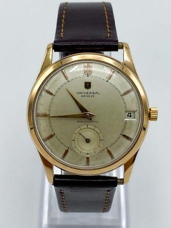 Relógio Universal Géneve Monodatic Ouro Automático