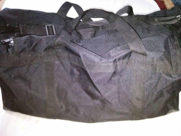 Транспортная сумка полицейского Великобритании чёрного цвета 60-80литр