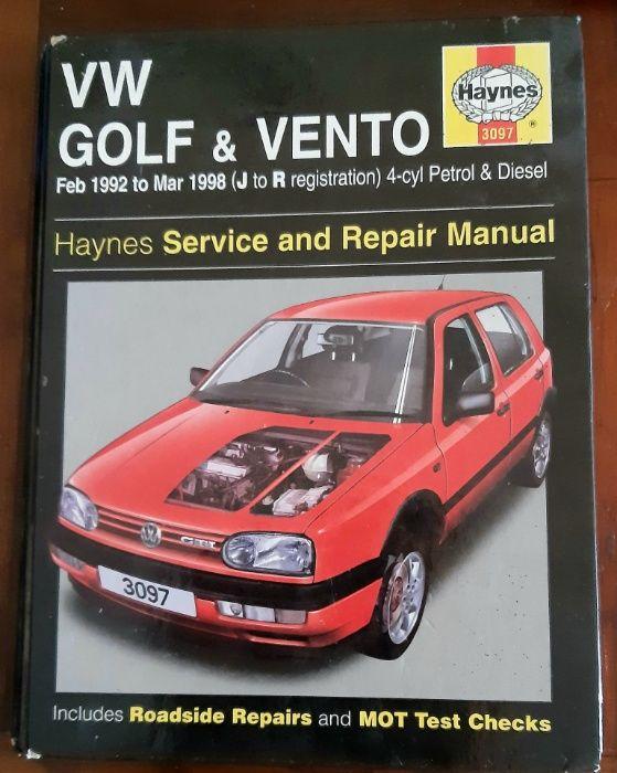 Manual HAYNES Vw Golf e Vento