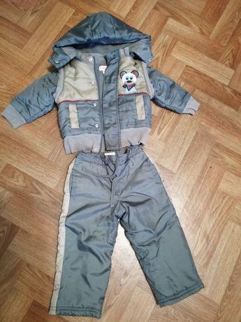 Тёплый костюм для мальчика