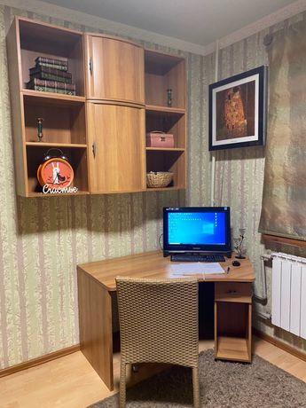 Качественная мебель: шкаф, книжный шкаф, стол-трансформер, тумба