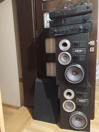 Kolumny altus 65 wzmacniacz radio CD sony