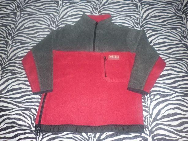 Теплая кофта свитер-толстовка110-116рост,4-5лет