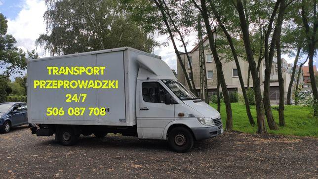 Transport/przeprowadzki Police i okolice