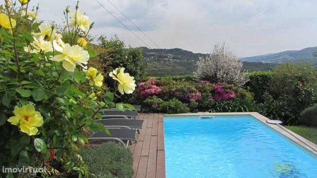 GEC257 V2-Loureda I,casa rústica qualidade p/ 6pax,wifi,linda vista